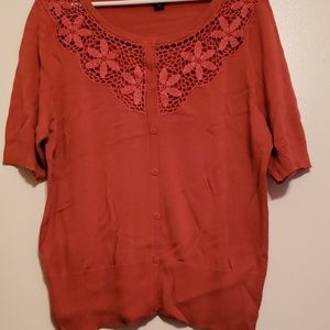East 5th short sleeve sweater